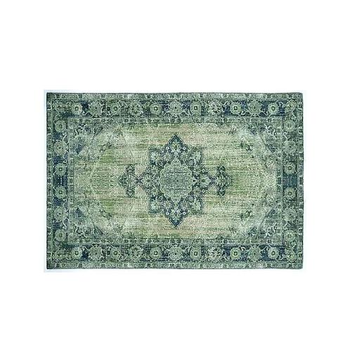 שטיח לעיצוב הבית בגוונים ירוקים 2.3/1.60
