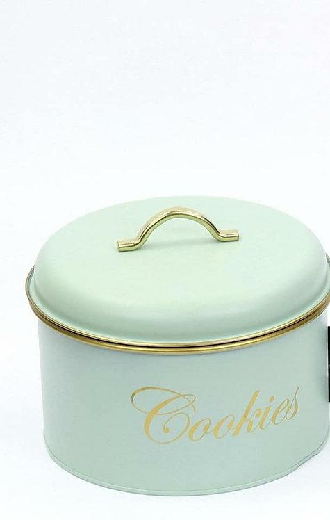 קופסה לעוגיות צבע פיסטוק