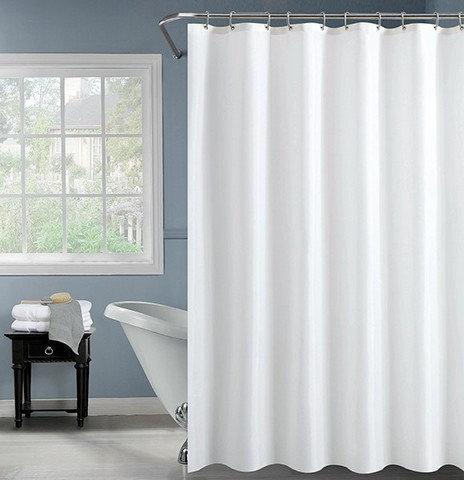וילון אמבטיה לבן