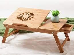 שולחן במבוק מתקפל עם מאוורר