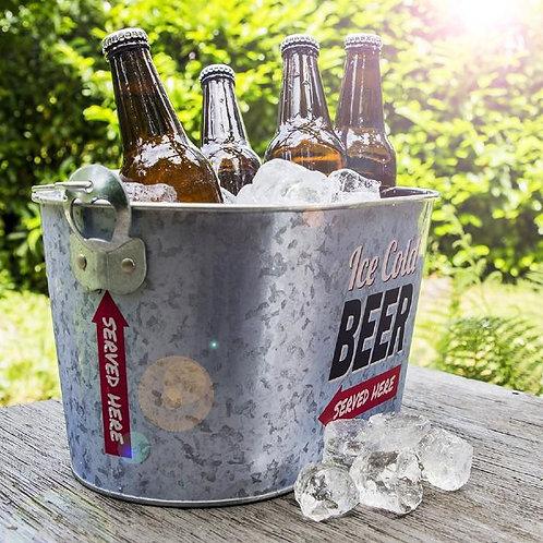 אמבטיית קרח עם פותחן בקבוקים  !Party Time