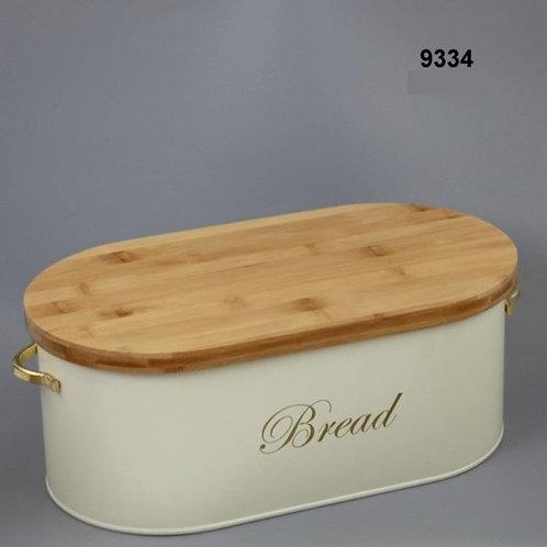 מלכת הבית - ארגז לחם בצבע שמנת