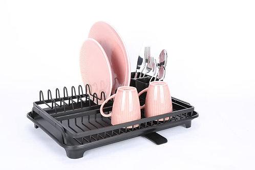 מיבש כלים קומה אחת שחור
