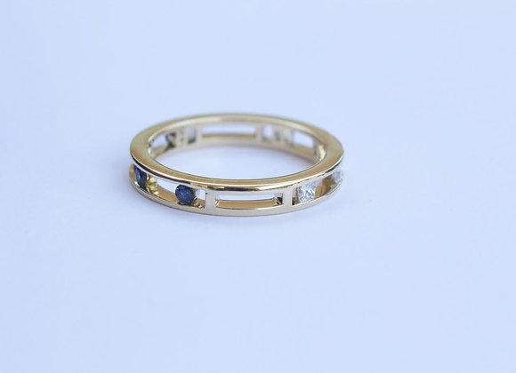 Yellow Gold Stack Ring