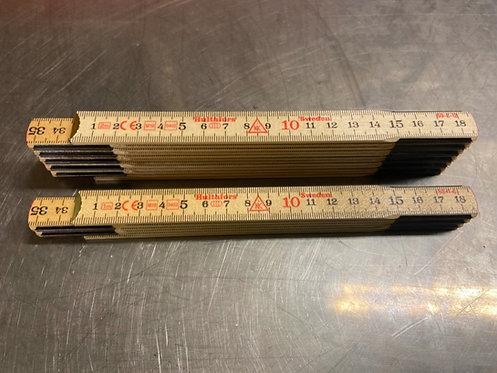 Hulterfors meterstokk i glassbjerk
