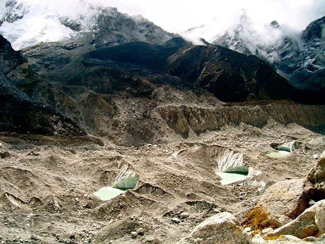 Research: Melting glaciers in the Himalayas