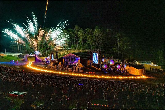 Lead performer, Woodford Folk Festival Fire Event, 2018-2019