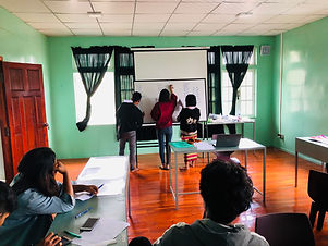 Student doing exercise or activities in classroom.jpg