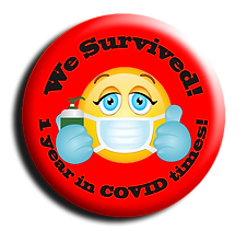 We Survived! 1 year in COVID times! 3d.p