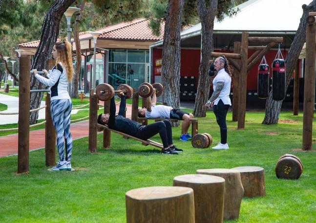 Fitness sahası