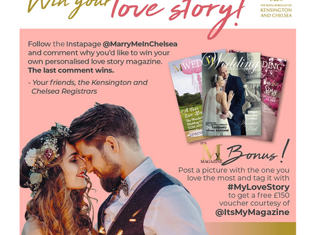 Kensington and Chelsea does It's My Magazine