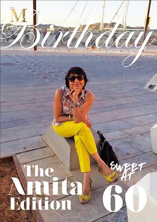 Special birthday magazine