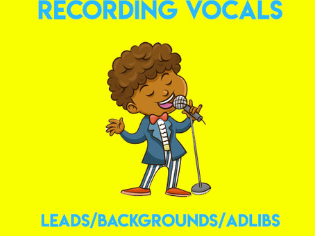 My Guide to Recording Vocals