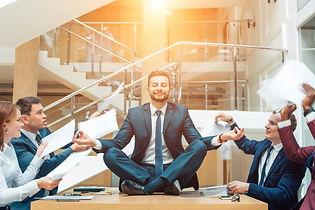 Business negotiation, male partners argu