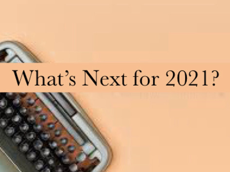 What's Next for 2021?