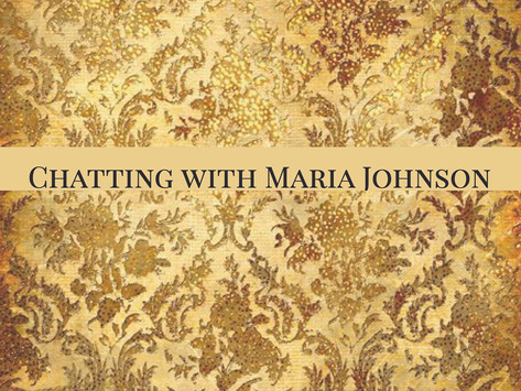 Chatting with Maria Johnson