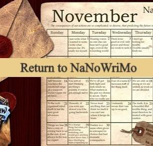Return to NaNoWriMo