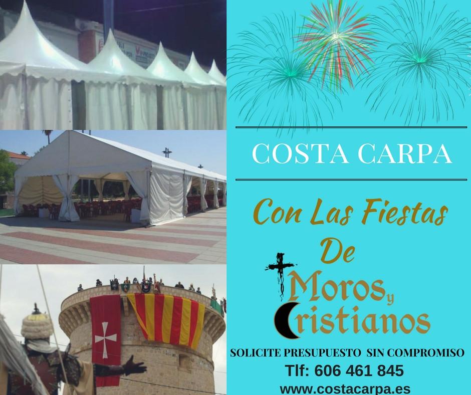 Costa Carpa Moros&Cristianos