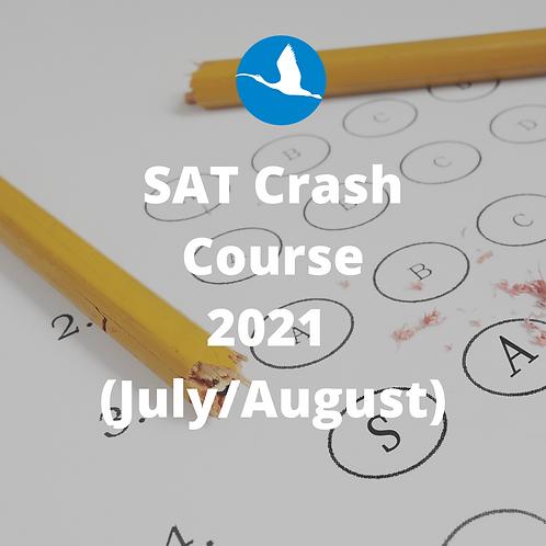 SAT Crash Course (July/August 2021)