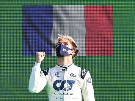 Pierre Gasly wins extraordinary Italian GP
