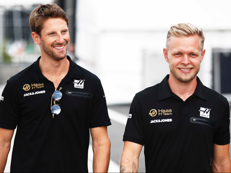 Haas retain Romain Grosjean and Kevin Magnussen for the 2020 F1 season