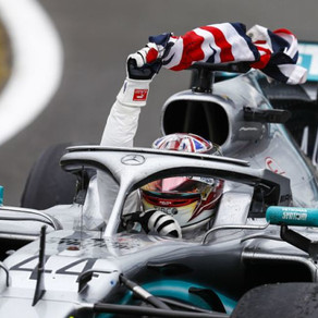 Hamilton storms to a record 6th British GP victory