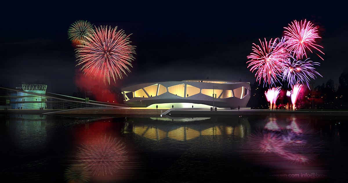 Render Parque Bicentenario