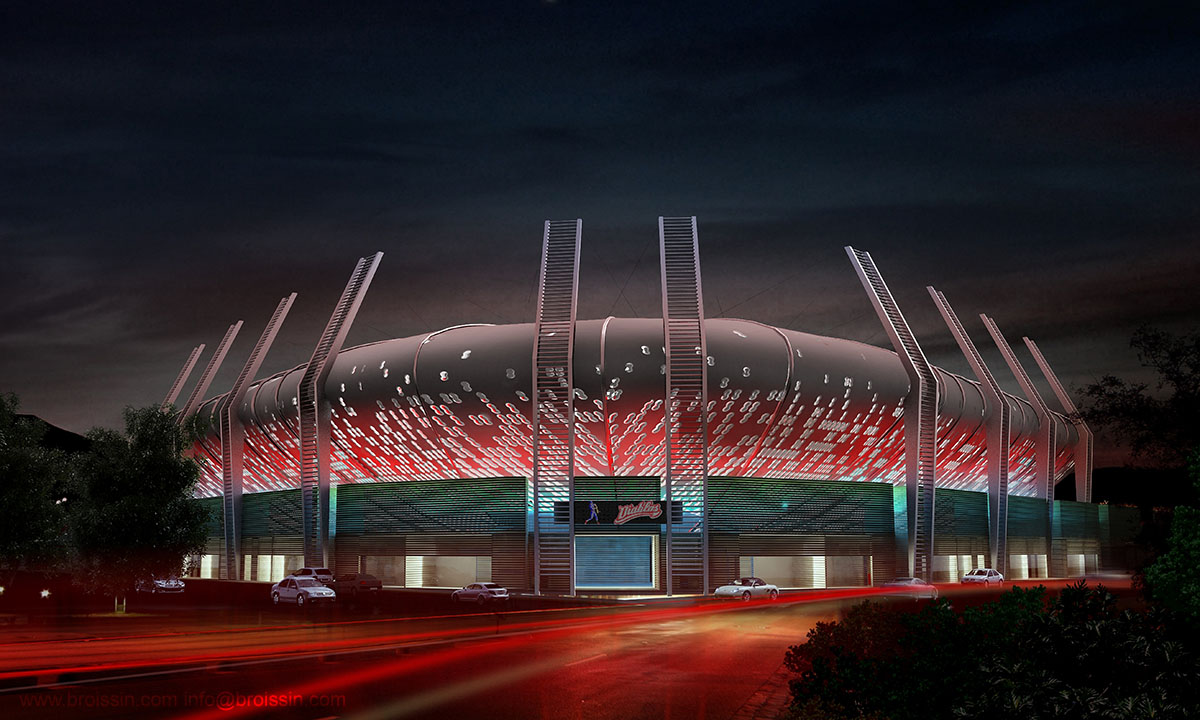 Render del Estadio