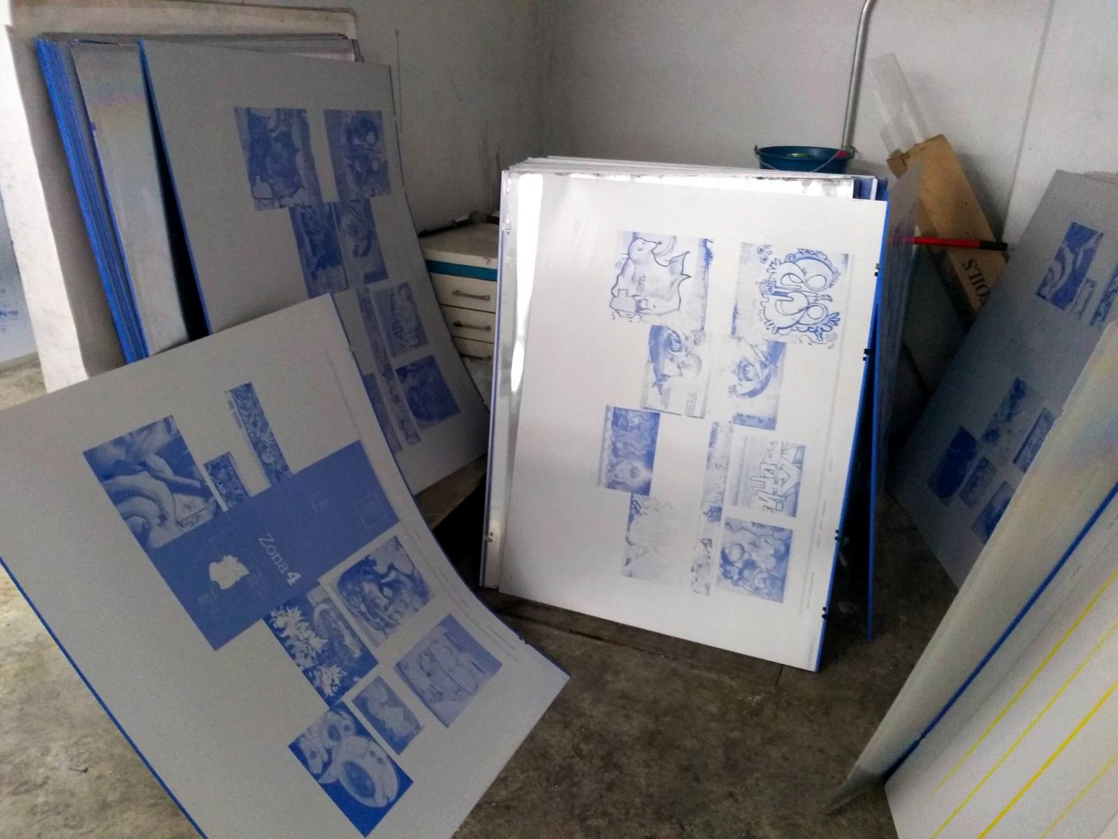 Placas para impresión offset