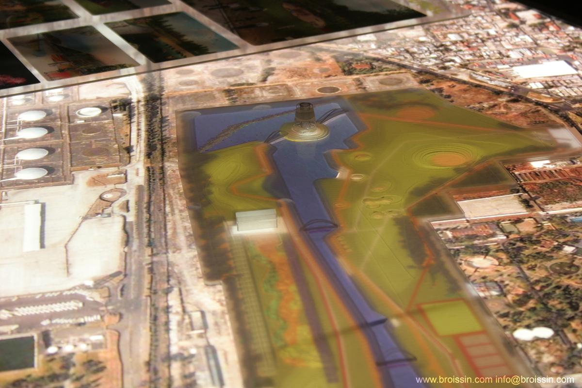 Modelo Parque Bicentensario