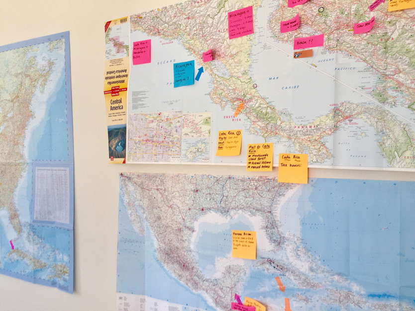 TRAVEL PLANNING, CENTRAL AMERICA, USA, CANADA
