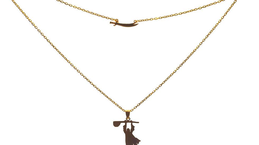 Necklace Gold Pir Sultan Set