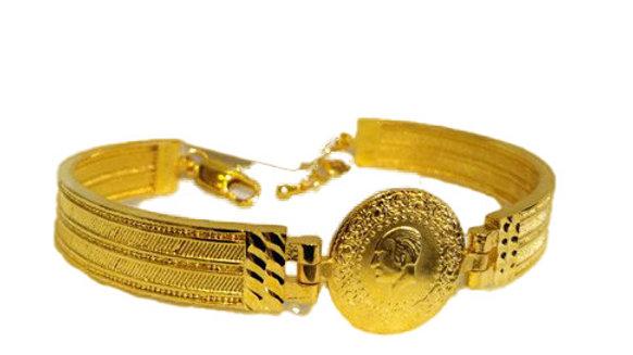 22Karat Gold Plated Wristband