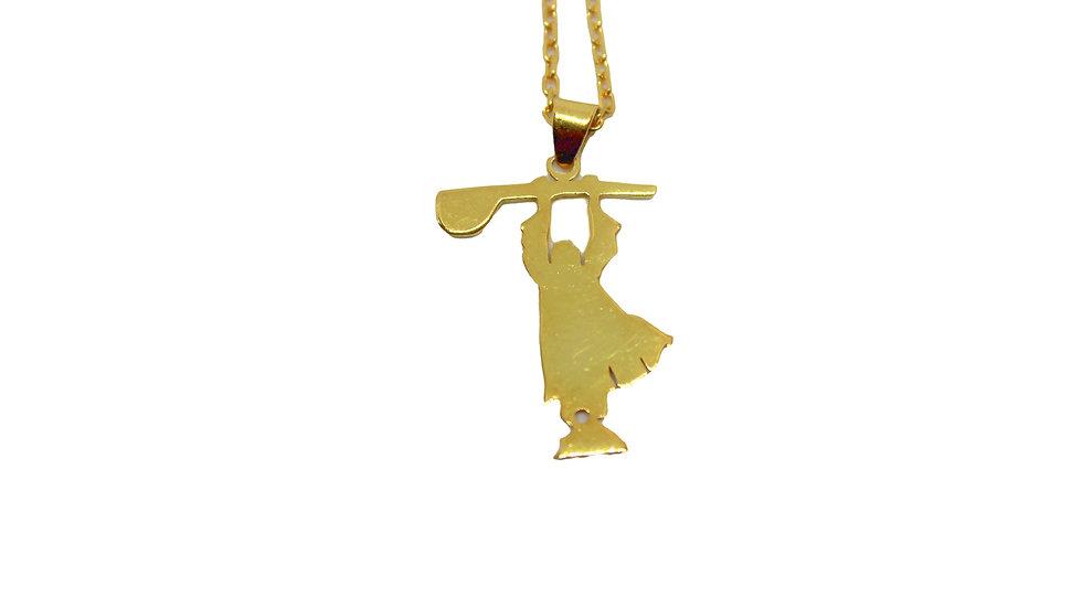 Necklace 22karat Gold Plated Pir Sultan