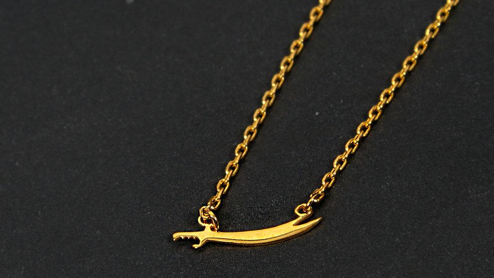 Necklace Silver Sword
