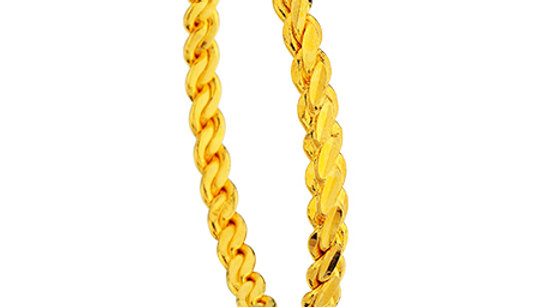 """""""Üçlü Burma Bilezik"""" Bracelet 22 Gold Plated"""