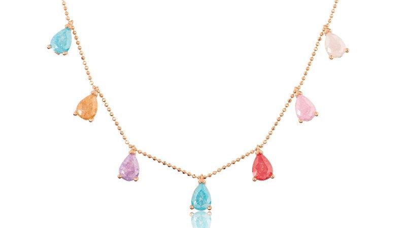 Colored Necklace - Farbige Halskette