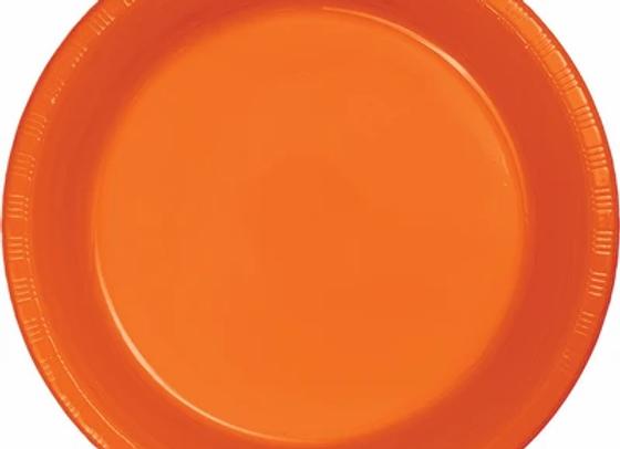 "10"" Plates - Orange"