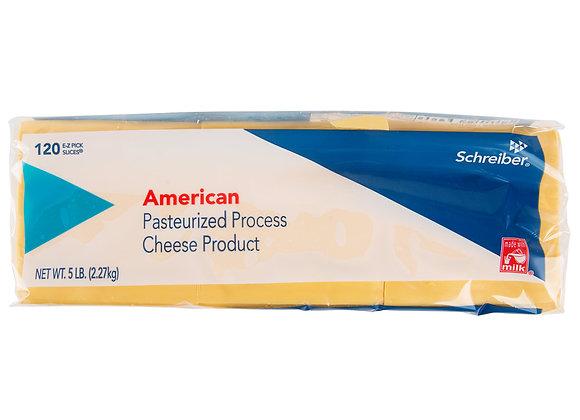 Sliced American Cheese - 120