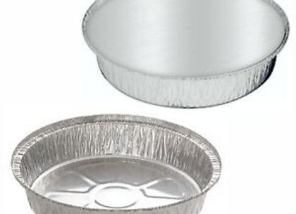 """7"""" Foil Round Container"""