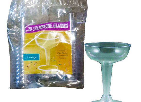 Disposable Champagne Glasses