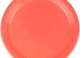 """10"""" Plates - Coral"""