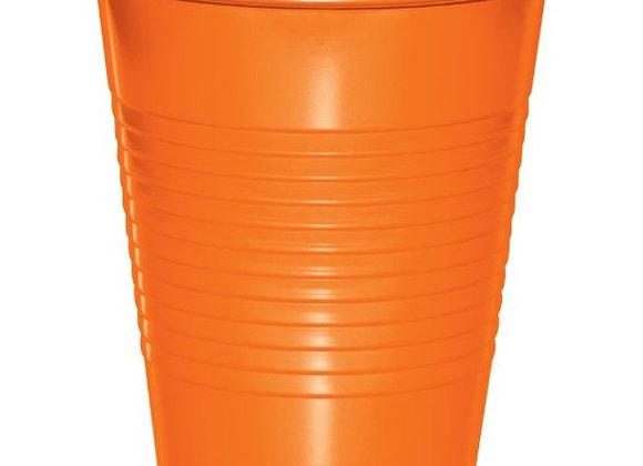 12oz Cups - Orange