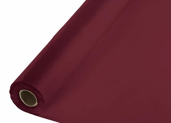Tablecover Roll - Burgundy