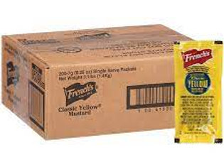 Mustard Individual Packets
