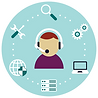 We can provide tech support on the day of your virtual event.