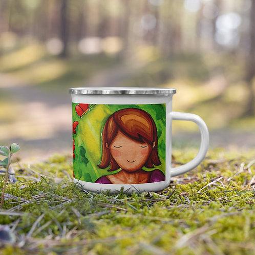 Inspiration Enamel Mug
