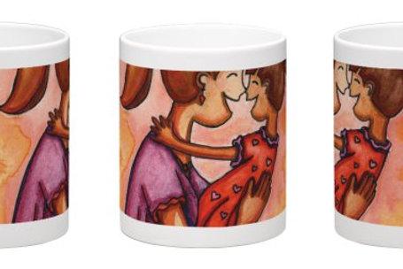 Mama Hugs Coffee Mug - 11oz Ceramic