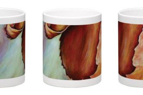 Curled Up and Cozy Coffee Mug - 11oz Ceramic