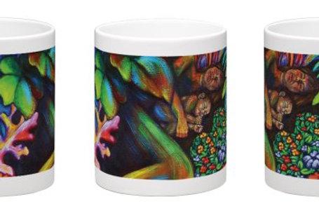 Sleeping in the Garden Coffee Mug - 11oz Ceramic